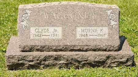 WAGGONER JR, CLYDE - Richland County, Ohio | CLYDE WAGGONER JR - Ohio Gravestone Photos