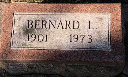 WAGNER, BERNARD L - Richland County, Ohio | BERNARD L WAGNER - Ohio Gravestone Photos
