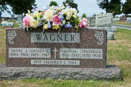 WAGNER, FREDERICK - Richland County, Ohio | FREDERICK WAGNER - Ohio Gravestone Photos