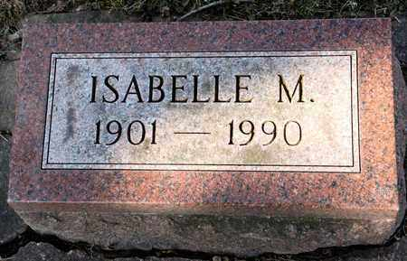 WAGNER, ISABELLE M - Richland County, Ohio | ISABELLE M WAGNER - Ohio Gravestone Photos