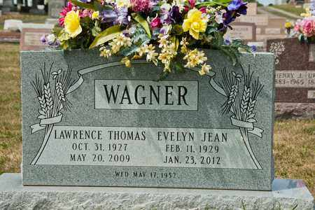 WAGNER, LAWRENCE THOMAS - Richland County, Ohio | LAWRENCE THOMAS WAGNER - Ohio Gravestone Photos