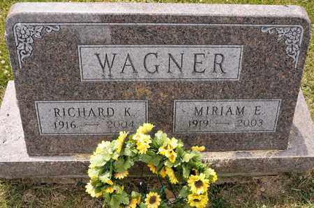 WAGNER, RICHARD K - Richland County, Ohio | RICHARD K WAGNER - Ohio Gravestone Photos