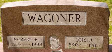 WAGONER, ROBERT E - Richland County, Ohio | ROBERT E WAGONER - Ohio Gravestone Photos
