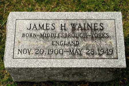 WAINES, JAMES H - Richland County, Ohio | JAMES H WAINES - Ohio Gravestone Photos