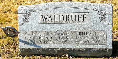 WALDRUFF, CARL R - Richland County, Ohio | CARL R WALDRUFF - Ohio Gravestone Photos