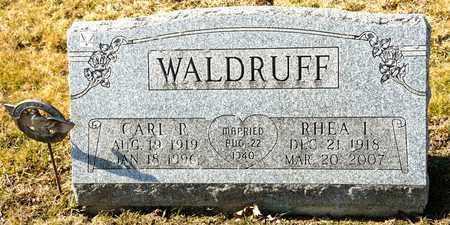 WALDRUFF, RHEA I - Richland County, Ohio | RHEA I WALDRUFF - Ohio Gravestone Photos