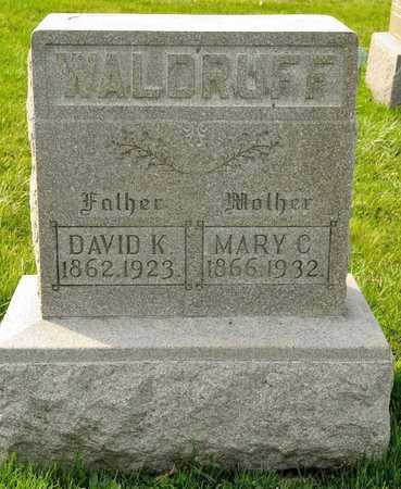 WALDRUFF, MARY C - Richland County, Ohio | MARY C WALDRUFF - Ohio Gravestone Photos