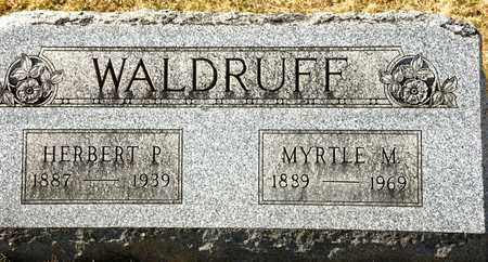 WALDRUFF, HERBERT P - Richland County, Ohio | HERBERT P WALDRUFF - Ohio Gravestone Photos