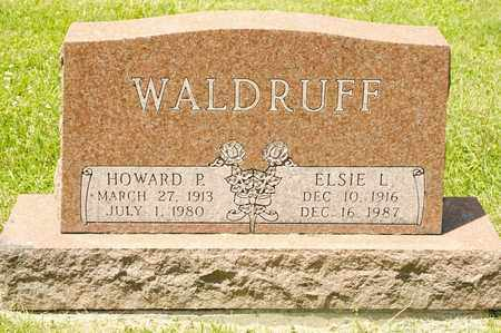 WALDRUFF, HOWARD P - Richland County, Ohio | HOWARD P WALDRUFF - Ohio Gravestone Photos