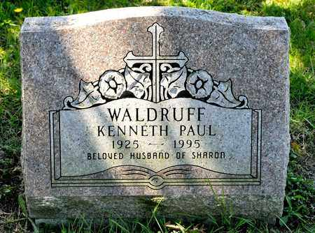 WALDRUFF, KENNETH PAUL - Richland County, Ohio | KENNETH PAUL WALDRUFF - Ohio Gravestone Photos