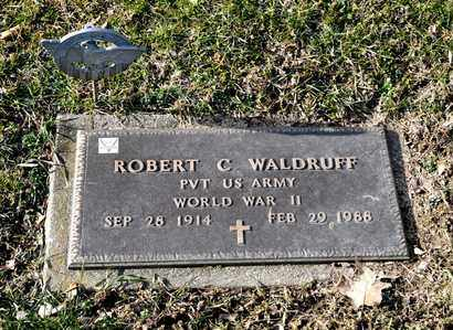 WALDRUFF, ROBERT C - Richland County, Ohio | ROBERT C WALDRUFF - Ohio Gravestone Photos
