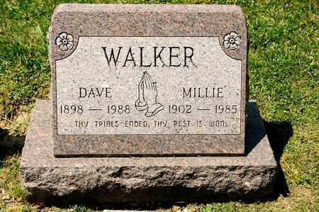 WALKER, MILLIE - Richland County, Ohio | MILLIE WALKER - Ohio Gravestone Photos