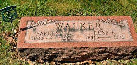 WALKER, EARNEST M - Richland County, Ohio | EARNEST M WALKER - Ohio Gravestone Photos