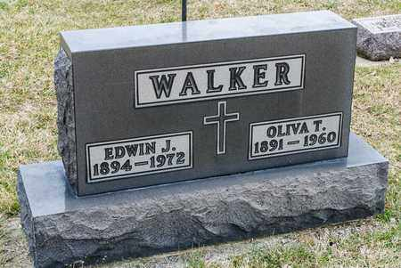 WALKER, EDWIN J - Richland County, Ohio | EDWIN J WALKER - Ohio Gravestone Photos