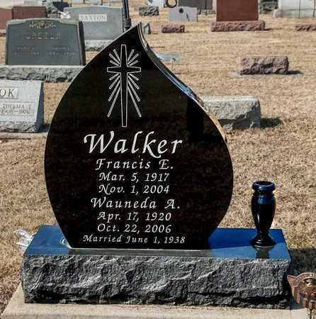 WALKER, WAUNEDA A - Richland County, Ohio | WAUNEDA A WALKER - Ohio Gravestone Photos