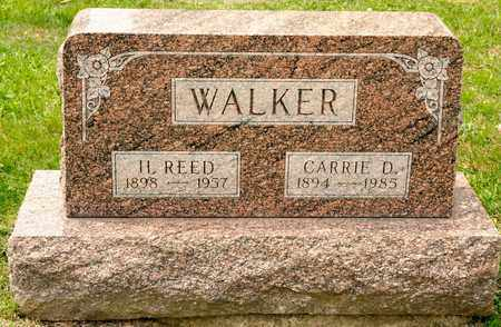 WALKER, CARRIE D - Richland County, Ohio | CARRIE D WALKER - Ohio Gravestone Photos
