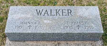 WALKER, JOANNA F - Richland County, Ohio | JOANNA F WALKER - Ohio Gravestone Photos