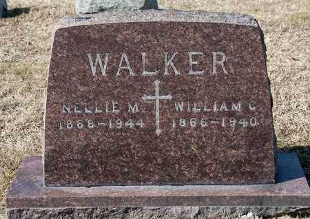 WALKER, NELLIE M - Richland County, Ohio | NELLIE M WALKER - Ohio Gravestone Photos