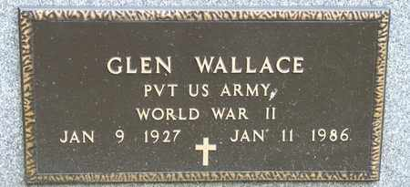 WALLACE, GLEN - Richland County, Ohio | GLEN WALLACE - Ohio Gravestone Photos