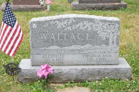 WALLACE, GLENVILLE - Richland County, Ohio | GLENVILLE WALLACE - Ohio Gravestone Photos
