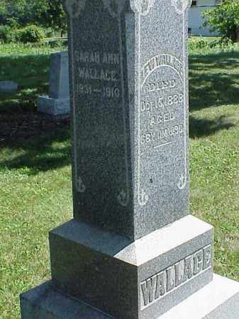 WALLACE, SARAH ANN - Richland County, Ohio | SARAH ANN WALLACE - Ohio Gravestone Photos