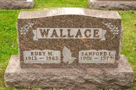 WALLACE, SANFORD L - Richland County, Ohio | SANFORD L WALLACE - Ohio Gravestone Photos