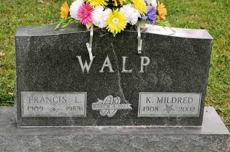 WALP, K MILDRED - Richland County, Ohio | K MILDRED WALP - Ohio Gravestone Photos