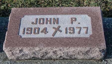 WALTBILLIG, JOHN P - Richland County, Ohio | JOHN P WALTBILLIG - Ohio Gravestone Photos