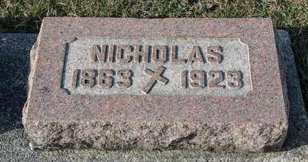WALTBILLIG, NICHOLAS - Richland County, Ohio | NICHOLAS WALTBILLIG - Ohio Gravestone Photos