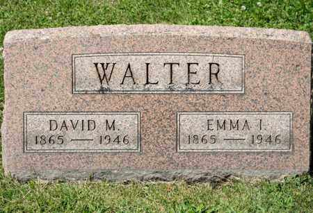 WALTER, EMMA I - Richland County, Ohio | EMMA I WALTER - Ohio Gravestone Photos