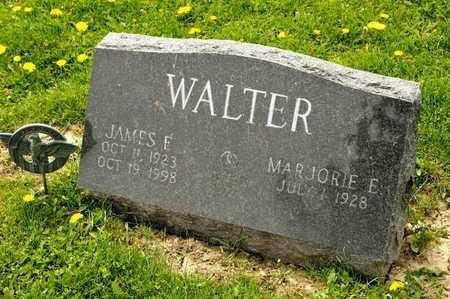 WALTER, JAMES E - Richland County, Ohio | JAMES E WALTER - Ohio Gravestone Photos