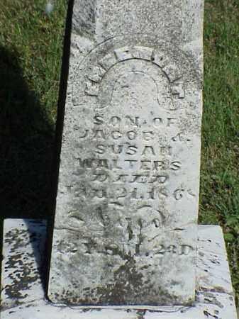 WALTERS, FREEMONT - Richland County, Ohio | FREEMONT WALTERS - Ohio Gravestone Photos