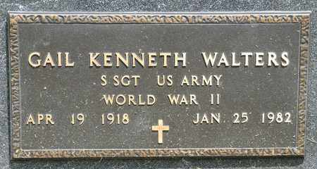 WALTERS, GAIL KENNETH - Richland County, Ohio | GAIL KENNETH WALTERS - Ohio Gravestone Photos
