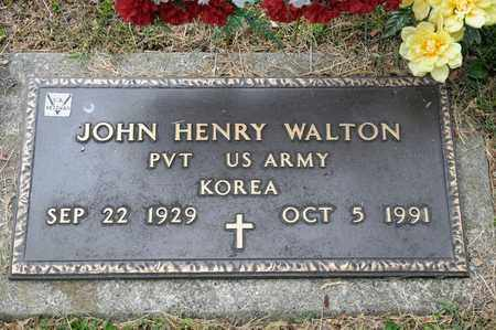 WALTON, JOHN HENRY - Richland County, Ohio | JOHN HENRY WALTON - Ohio Gravestone Photos