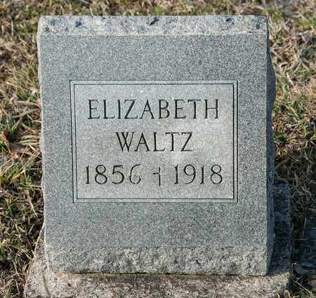 WALTZ, ELIZABETH - Richland County, Ohio | ELIZABETH WALTZ - Ohio Gravestone Photos