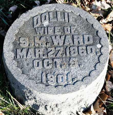 WARD, DOLLIE - Richland County, Ohio | DOLLIE WARD - Ohio Gravestone Photos