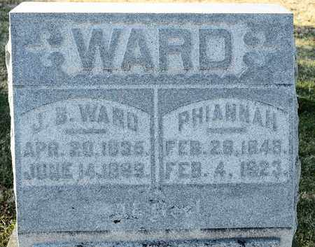 WARD, PHIANNAH - Richland County, Ohio | PHIANNAH WARD - Ohio Gravestone Photos