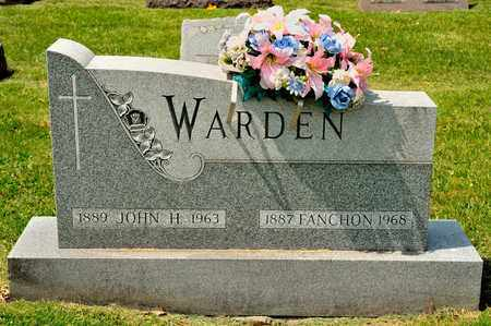 WARDEN, FANCHON - Richland County, Ohio | FANCHON WARDEN - Ohio Gravestone Photos