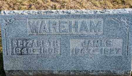 WAREHAM, ELIZABETH - Richland County, Ohio | ELIZABETH WAREHAM - Ohio Gravestone Photos