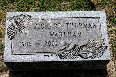 WAREHAM, RICHARD THURMAN - Richland County, Ohio | RICHARD THURMAN WAREHAM - Ohio Gravestone Photos