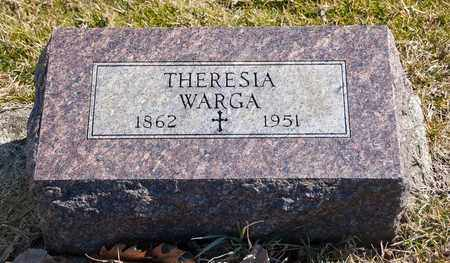 WARGA, THERESIA - Richland County, Ohio | THERESIA WARGA - Ohio Gravestone Photos