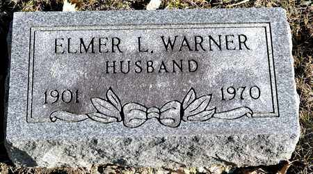 WARNER, ELMER L - Richland County, Ohio | ELMER L WARNER - Ohio Gravestone Photos