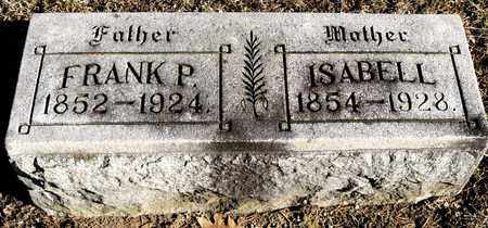 WARNER, ISABELL - Richland County, Ohio | ISABELL WARNER - Ohio Gravestone Photos
