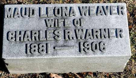 WEAVER WARNER, MAUD LEONA - Richland County, Ohio | MAUD LEONA WEAVER WARNER - Ohio Gravestone Photos