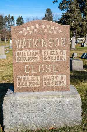 WATKINSON, WILLIAM - Richland County, Ohio | WILLIAM WATKINSON - Ohio Gravestone Photos