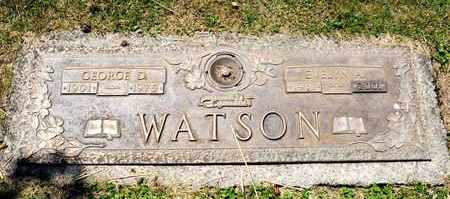 WATSON, GEORGE D - Richland County, Ohio | GEORGE D WATSON - Ohio Gravestone Photos
