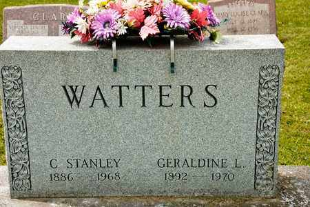WATTERS, GERALDINE L - Richland County, Ohio | GERALDINE L WATTERS - Ohio Gravestone Photos
