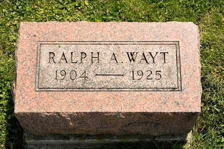 WAYT, RALPH A - Richland County, Ohio | RALPH A WAYT - Ohio Gravestone Photos