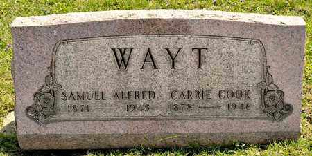 COOK WAYT, CARRIE - Richland County, Ohio | CARRIE COOK WAYT - Ohio Gravestone Photos