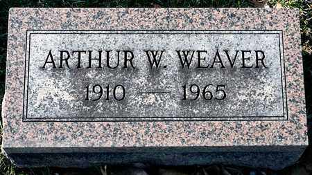 WEAVER, ARTHUR W - Richland County, Ohio | ARTHUR W WEAVER - Ohio Gravestone Photos